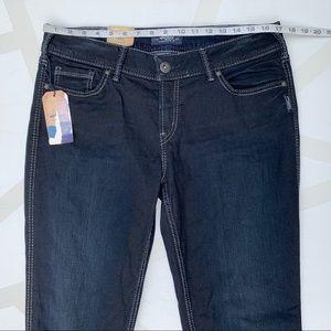Silver Jeans Jeans - Silver Jeans Suki Super Skinny Jeans Dark Wash 34